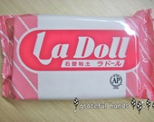 FREE DHL SHIPPING -  500g La Doll Satin Smooth Natural Stone Modeling Clay x 6pcs Package
