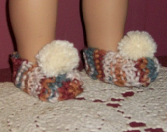 "American Made-18inch Doll Clothes  -  Slippers for 18"" dolls Such as AG"