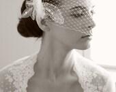 The Penelope Bandeau Birdcage Veil