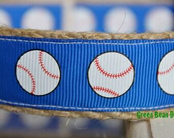ON SALE - Royals Dog Collar, Baseball Dog Collar, Sale Dog Collar