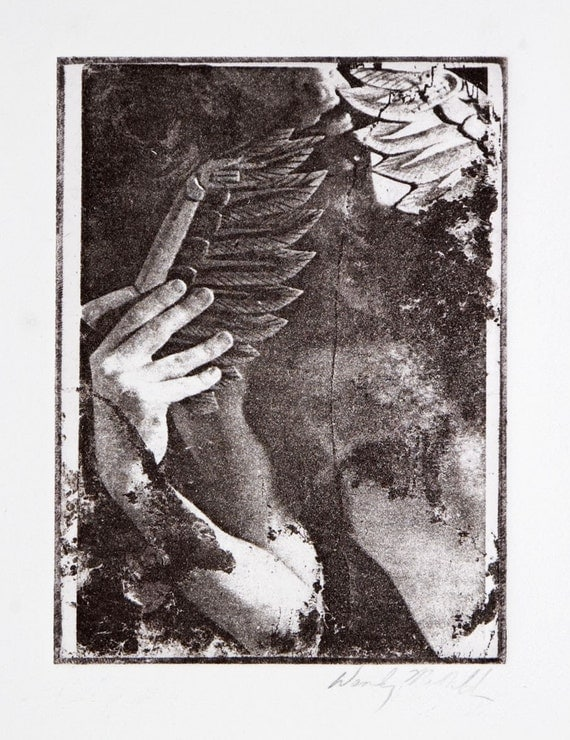 Free Shipping-Wings-etching
