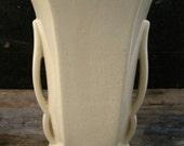 Vintage McCoy White Vase