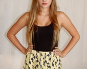 Blue & Yellow Skirt