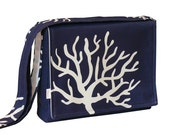 iPad Messenger Bag Padded - Blue Bag