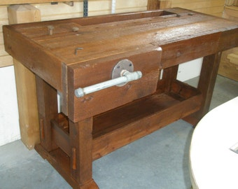 Solid Cedar WOODWORKERS Table