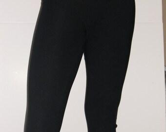 Black spandex leggings-any size