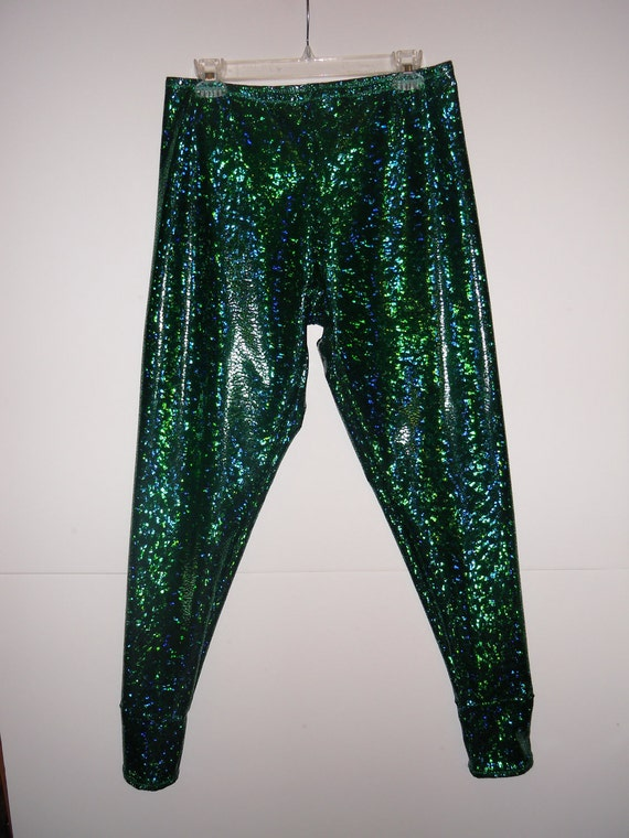 Reserved for shinianen-Green Metallic leggings