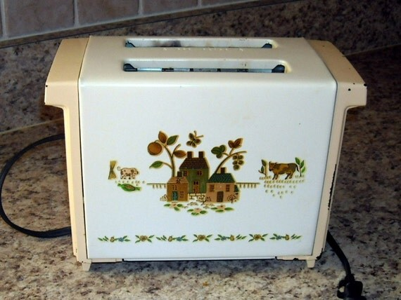 Vintage Toaster Proctor Silex Retro Rustic By