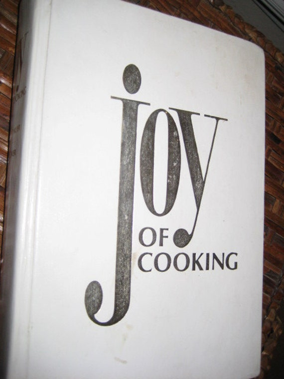 SaLe Vintage JOY OF COOKING Cook Book 1980