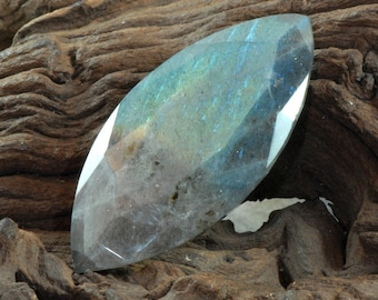 Labradorite faceted marquise cut natural gemstone 245 cts