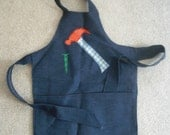 Boys Denim Apron