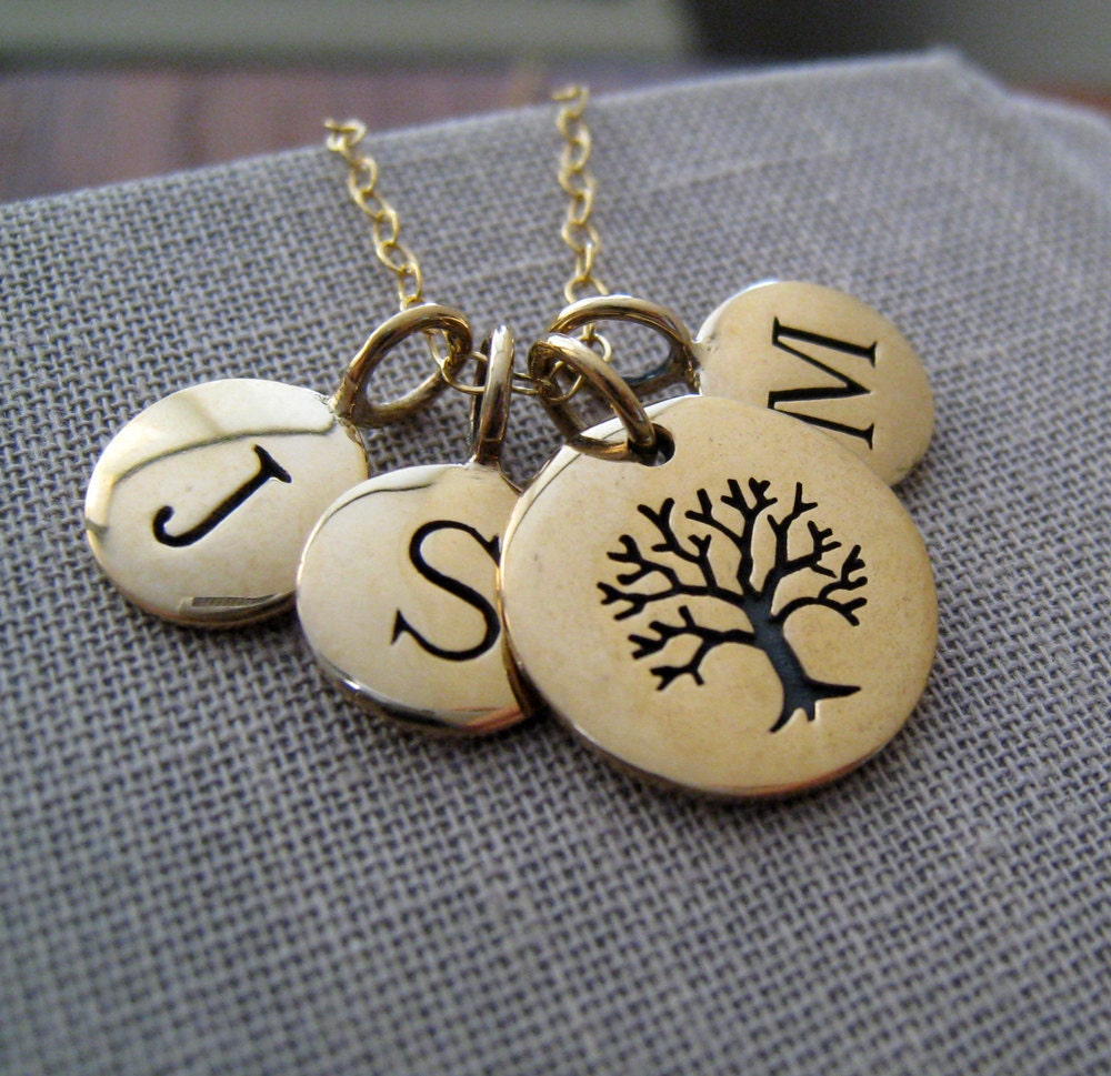 Christmas Tree Life Extender: Personalized Gift For Grandma Tree Of Life Necklace
