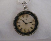 CUSTOM LISTING-clock charm for Candace