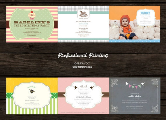 Professional SINGLE-SIDED 5 x 7 or 4 x 9 Prints (x50) - Provided by FLIPAWOO