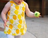 SALE- Bright Yellow Lemon Jumper...Size 3-6 Months ONLY