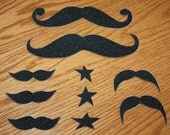 Mustache Grip Tape Decal