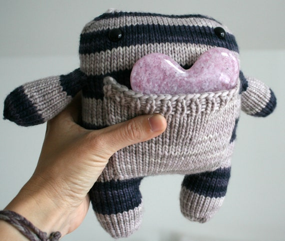 Hand Knit Pocket Monster