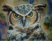 Owl's Head Orig. Painting