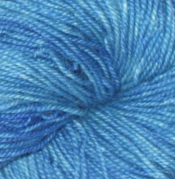 SALE - YARN DISCONTINUED - Shirley's Blue Kettle Dyed Blue Nirvana