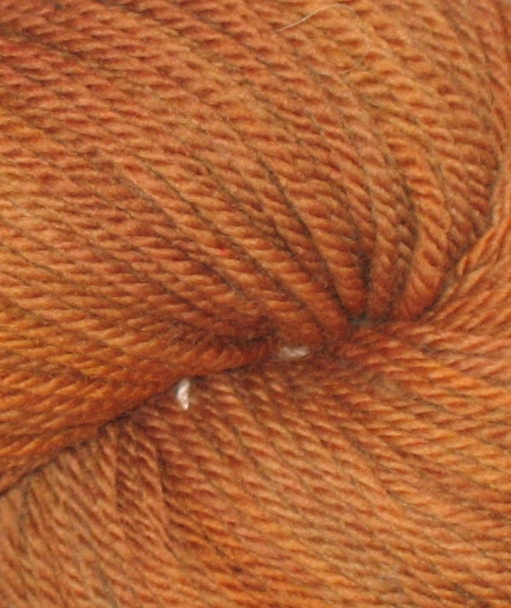 SALE - 50% off original price Cinnamon Hand Dyed Shambhala Yarn