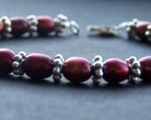 Sweet Cherries Pearl Bracelet