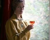 Merchant of Venice - mustard renaissance costume blouse from Covent Garden Royal Opera