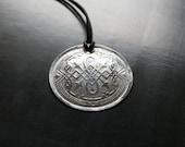 John Snow Amulet - Medieval Celtic Metal pendant with Eternity pattern Unisex jewelry