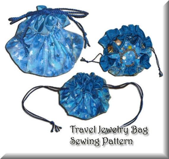 Free Jewelry Travel Bag Pattern