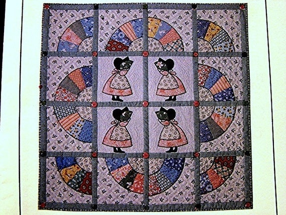 Sunbonnet Sue Applique Quilt Pattern