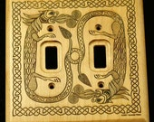 Celtic Dragon Switchplate