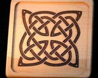 Celtic Knotwork Coaster Set