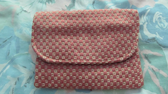Upholstery Fabric Accessory Wallet, Mauve, Heavy.  Interior Decorating Fabric