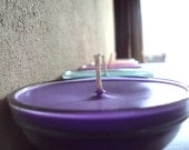 Candle Purple Grapefruit Mangosteen - Soy Candle Bowl