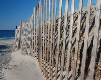 Beach Pictures, Sand Dunes, Beach Fence, Beach Themed Art, Cottage Decor, Bathroom Decor, Coastal Home Decor, Small Art Pieces, Office Wall
