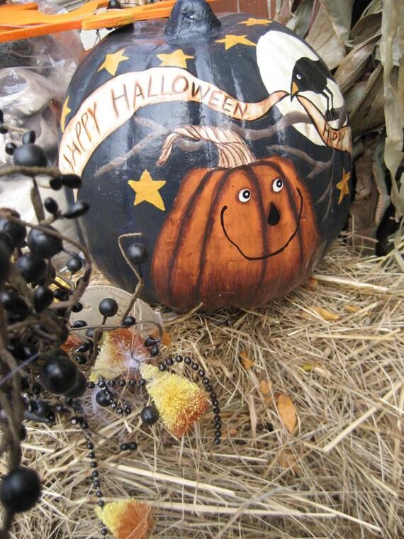 Halloween Card - Photo Notecard - Happy Halloween Card - Pumpkin - October - Ready to Ship - Halloween Pumpkin - Autumn Inspiration