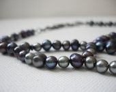 Freshwater Pearl Necklace- Building Storm