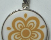 Pyrex Corelle Butterfly Gold Necklace
