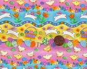 1 Yard Happy Easter Fabric