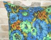 vintage fabric pillow case 20x20