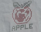 Apron Child's Apple Style For Cooking or Crafts