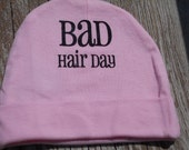 Baby Hat Pink Bad Hair Day