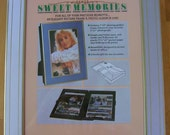 Picture Frame and Photo Album - Sweet Memories - Vintage