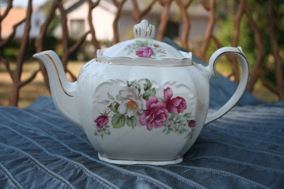 Vintage Windsor Teapot Made In England By Thewhiterabbitstudio