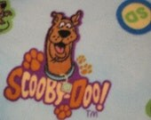 Reserved for Chrissy - Scooby Doo with Green Handmade Blanket - Ready to Ship Now
