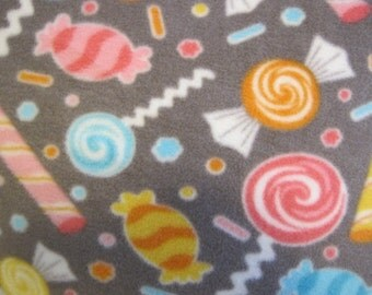 Candy with Yellow Couch Throw - Ready to Ship Now