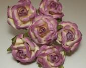 Plum Latex Flowers
