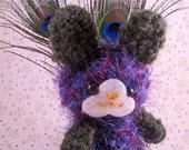 Amigurumi Peacock Bunny