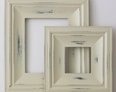 5x5 Picture Frame / Vintage White on Cottage
