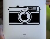 Camera iPad Decal / Macbook Decal  / Laptop Decal