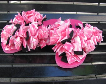 Fun Fuzzy Flip Flops...Pretty in Pink